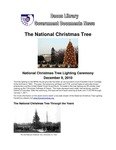 December 2010: National Christmas Tree by Dacus Library