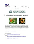 March 2011: Gardening with the Department of Agriculture by Dacus Library