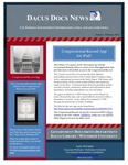 January 2012: Congressional Record app for iPad!