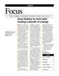 April 1999: Dean Retires; Web Resources; Excellence Report