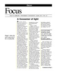 March 2001: A Gossamer of Light