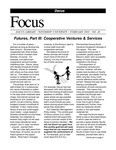 February 2002: Futures, Part III, Cooperative Ventures and Services by Dacus Library