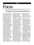 April 2002: Counting the Cost: Human and Financial Resources by Dacus Library
