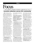 February 2003: Juvenile Collection Serves WU Community by Dacus Library