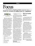 July 2004: PASCAL to Receive $2 Million from S.C. Legislature