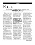 May 2005: A PASCAL Primer by Dacus Library