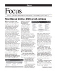December 2006: New Dacus Online, DOC Greet Campus by Dacus Library