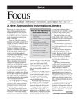 November 2007: A New Approach to Information Literacy