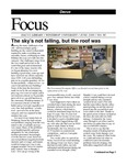June 2009: The Sky's not Falling but the Roof Was by Dacus Library