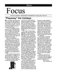 "Fall 2010: ""Playaway"" the Holidays by Dacus Library"
