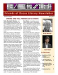Spring 2015 by Friends of Dacus Library