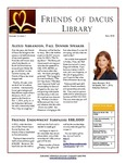 Fall 2018 by Friends of Dacus Library