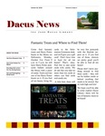 Dacus News Volume 2, Issue 1 by Michaela Eileen Volkmar and Dacus Library