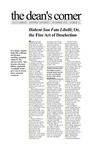 November 2000: Habent Sua Fata Libelli; Or, the Fine Art of DeselectionSeptember 2000: Dacus Moves by Dacus Library