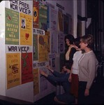 Students Hanging Posters in Dinkins, late 1960s