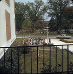 Campus Tour Outside of Dinkins, late 1960s by Winthrop University and Clarence H. and Anna E. Lutz Foundation