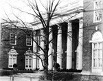 Johnson Hall Front Steps ca1920s by Winthrop University and Clarence H. and Anna E. Lutz Foundation