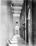 Johnson Hall Front Porch ca1920s by Winthrop University and Clarence H. and Anna E. Lutz Foundation