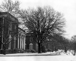 Johnson Hall in the Snow December 24, 1947 by Winthrop University and Clarence H. and Anna E. Lutz Foundation