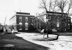 Rear of Johnson Hall ca. early 1960s by Winthrop University and Clarence H. and Anna E. Lutz Foundation