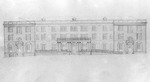 Joynes Hall Architectural Drawing ca late 1910s by Winthrop University and Clarence H. and Anna E. Lutz Foundation