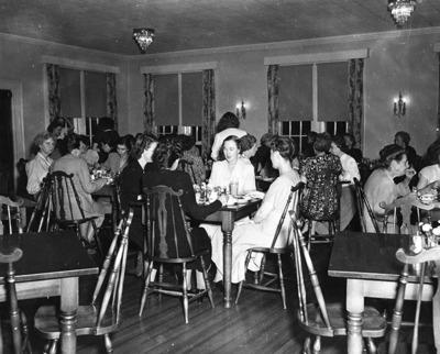 Joynes Hall Dining Room 1948