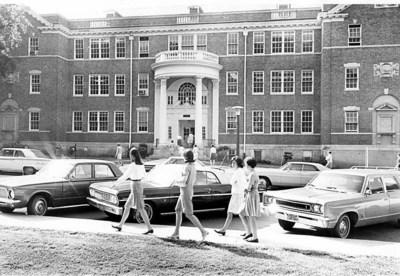 Kinard Hall, April 15, 1968