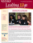 Leading Edge Winter 2013 by Richard W. Riley College of Education, Winthrop University and Jennifer A. Fricke