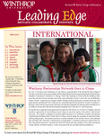 Leading Edge Fall 2013 by Richard W. Riley College of Education, Winthrop University and Jennifer A. Fricke
