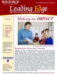 Leading Edge Spring 2014 by Richard W. Riley College of Education, Winthrop University and Jennifer A. Fricke