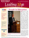 Leading Edge Spring 2015 by Richard W. Riley College of Education, Winthrop University