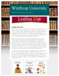 Leading Edge Spring 2017 by Richard W. Riley College of Education, Winthrop University and Jennifer A. Fricke