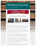 Leading Edge Fall 2017 by Richard W. Riley College of Education, Winthrop University and Jennifer A. Fricke