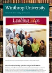Leading Edge January 2019 by Richard W. Riley College of Education, Winthrop University