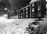 Lee Wicker Hall in the Snow ca1964 by Winthrop University and Clarence H. and Anna E. Lutz Foundation
