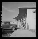 Front entrance to Idaho Hall, Arlington Farms,