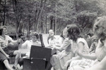 Cryptology workers having a picnic at Rocky Creek Park
