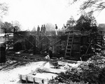 The Reconstruction of the Little Chapel on Winthrop's Back Campus 1936