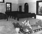 Little Chaple Interior Facing North ca 1956