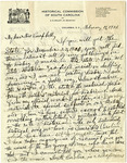 Alexander Samuel Salley Letters - Accession 45 - M20 (30)