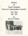 South Carolina Extension Homemakers Council History and Handbook - Accession 46 - M21 (31)