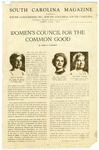 South Carolina Council for the Common Good Records - Accession 117
