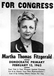 Martha Thomas Fitzgerald Papers - Accession 273