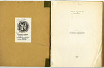 Work Projects Administration: Research and Records Work in South Carolina Report - Accession 131 - M58 (73)