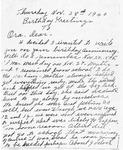 Mai Davidson Ramsey Letter - Accession 137 M64 (79)