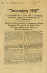 United Daughters of the Confederacy Abbeville Chapter Pamphlet - Accession 140 - M67 (82)