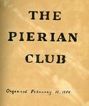 Pierian Club of Rock Hill Records - Accession 151