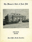 Woman's Club of Rock Hill Yearbooks - Accession 154 - M75 (90-91) by Women's Club of Rock Hill