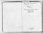 Philip B. Mishoe Diaries - Accession 267 - M112 (144)