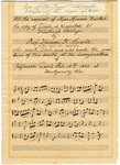 Dixie Music Score - Accession 1398 - M690 (746)
